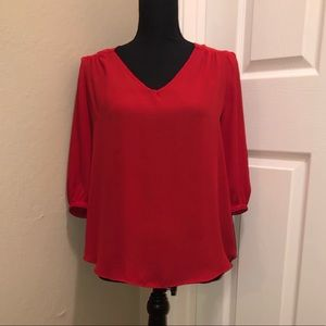 New without tags, red blouse from BCX